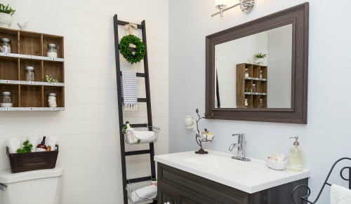 bathroom remodel - clean and scentsible