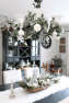 Farmhouse Dining Room Christmas Decorations Clean And Scentsible