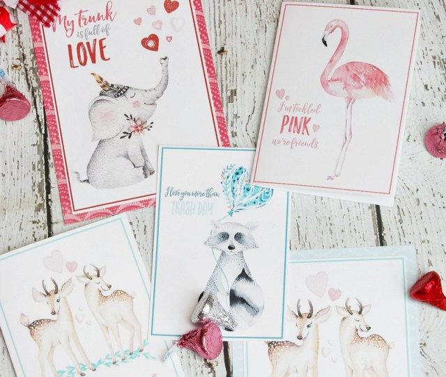 I Love These Cute Valentines Day Cards Free Printables To Create Your Own
