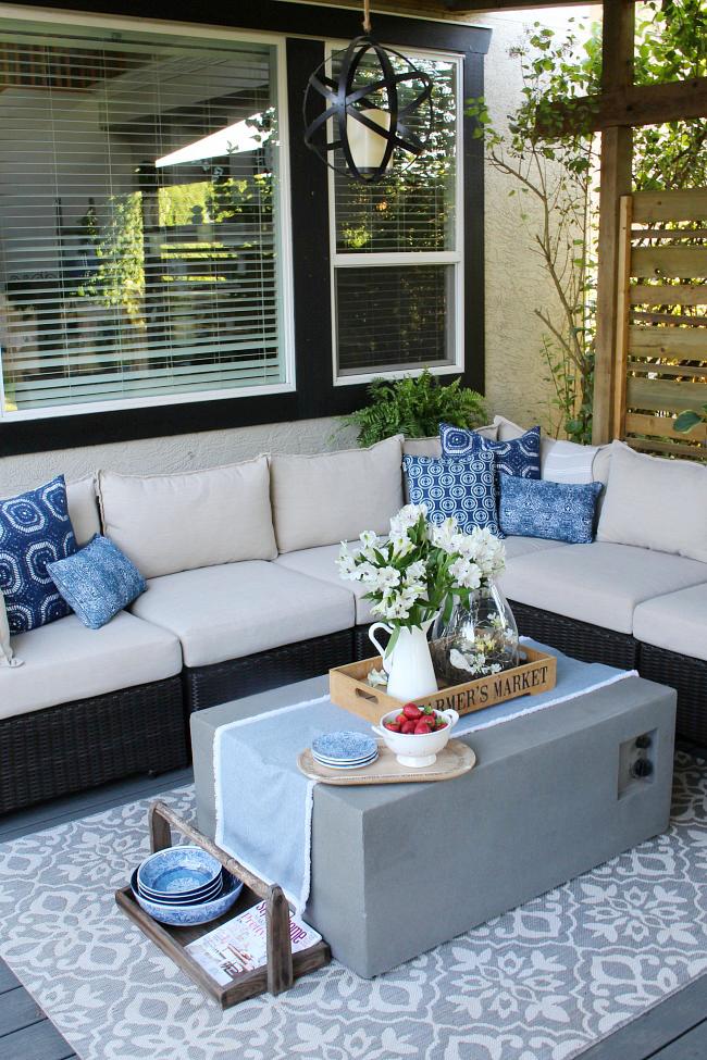 decorative patio accessories