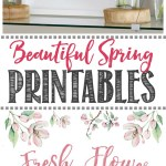 Fresh Flower Market Free Spring Printable Clean And Scentsible