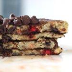 Coconut Chocolate Chip Pancake