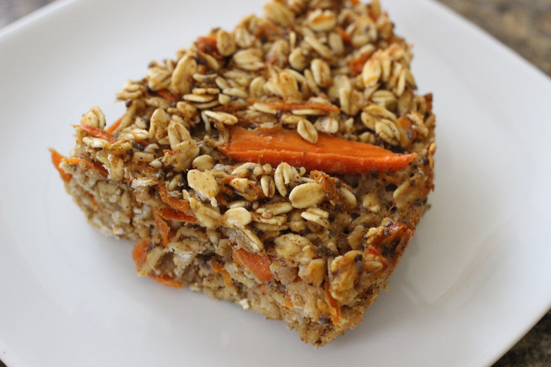 Carrot Cake on Plate