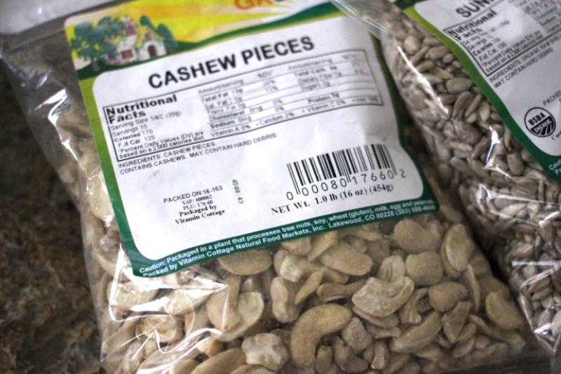 Cashew Pieces Bag