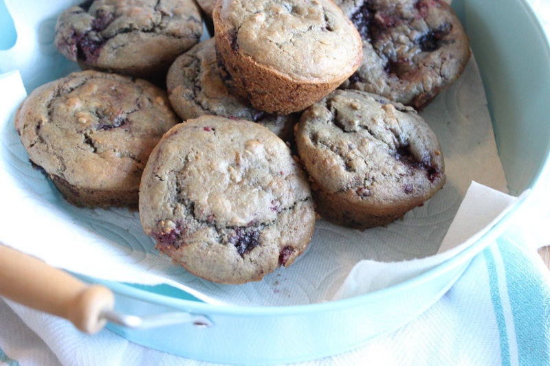 Mixed Berry Protein Muffin