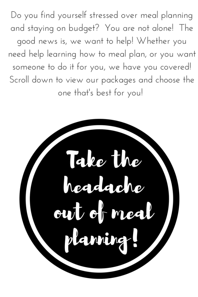 take the headache out of meal planning