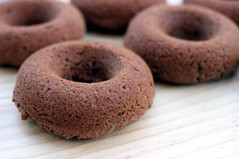 Grain Free Chocolate Donuts