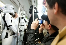Star Wars Improve Everywhere Scene - Storm Troopers