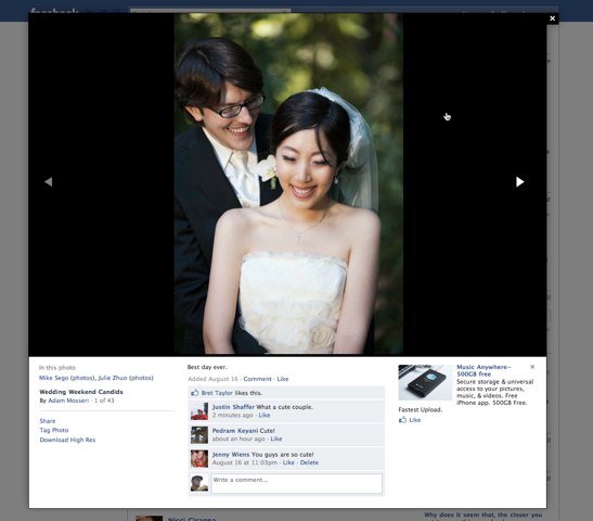 Facebook Photos Viewer