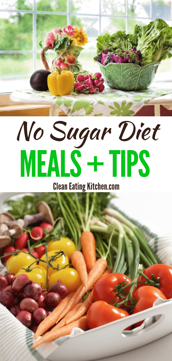 no sugar diet meal planning and tips