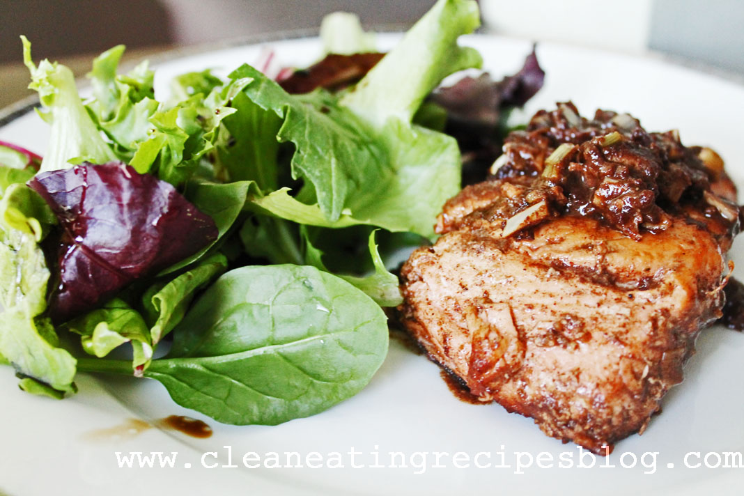 clean eating recipe - 5 spice salmon 1