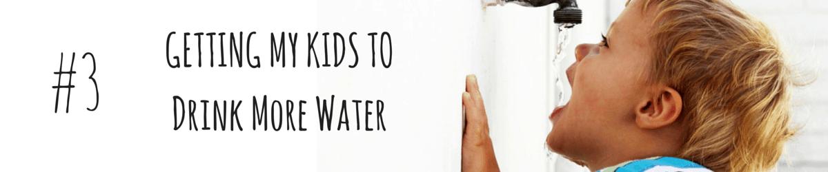 DrinkingMore Water