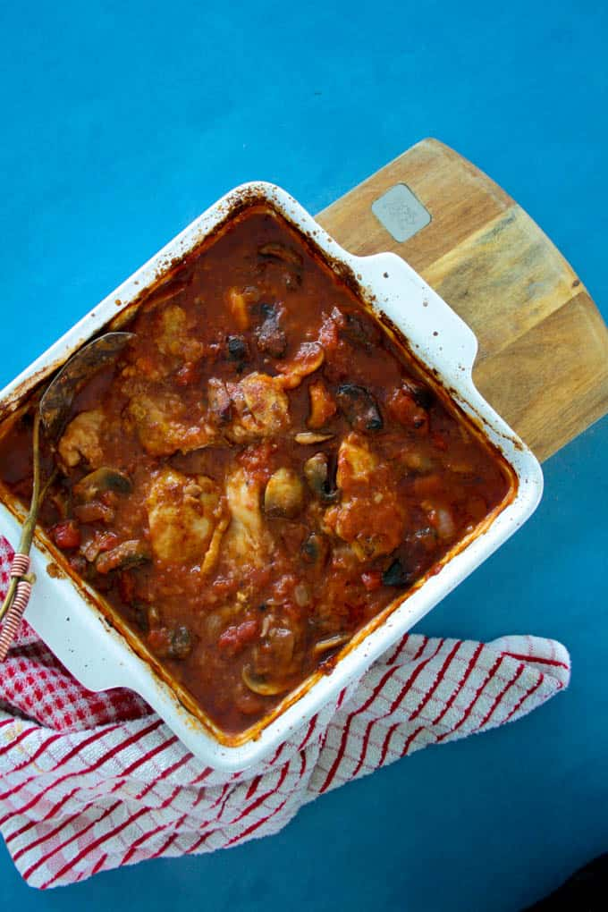 Easy Clean Eating Chicken Cacciatore