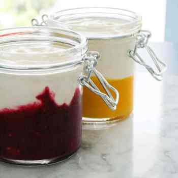 fruit yogurt cups