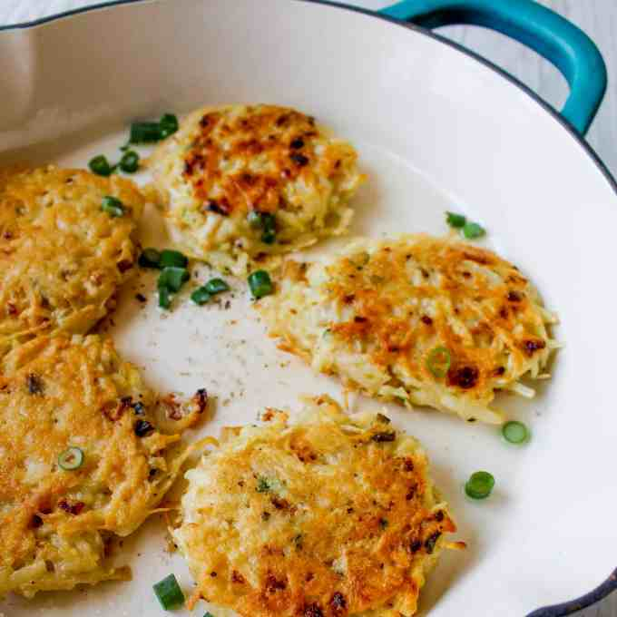 Clean Eating Homemade Hash browns