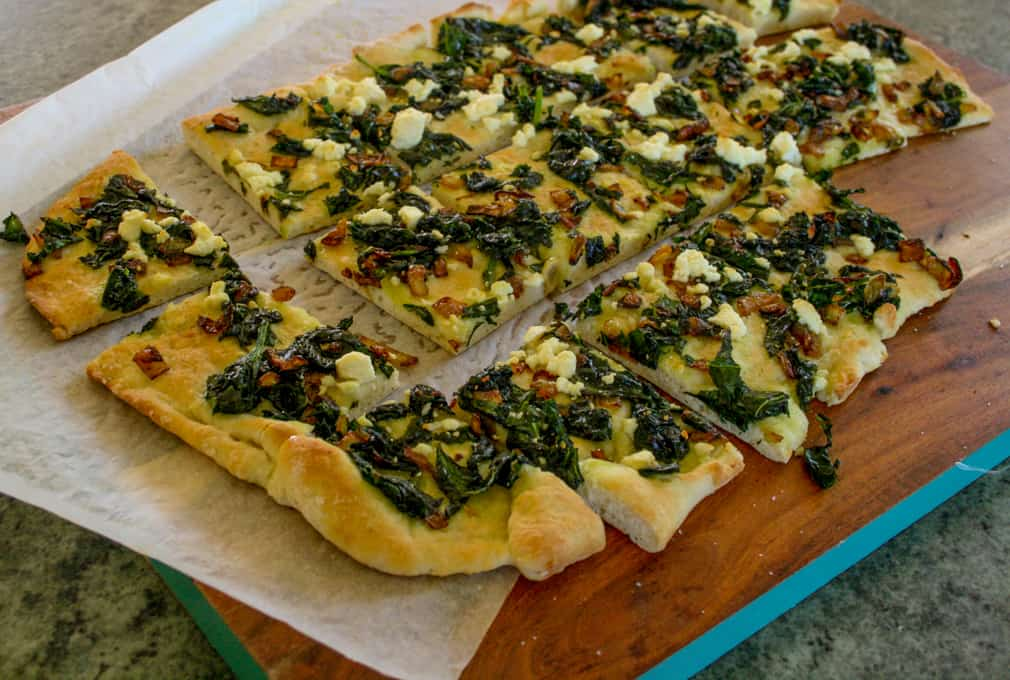 spinach and feta flatbread-5