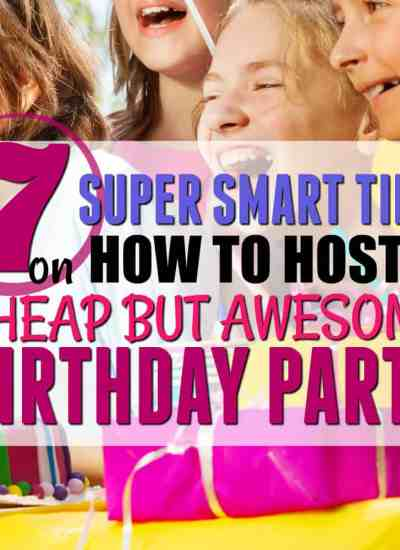 How to Host a Cheap but Amazing Birthday Party that your child will remember!