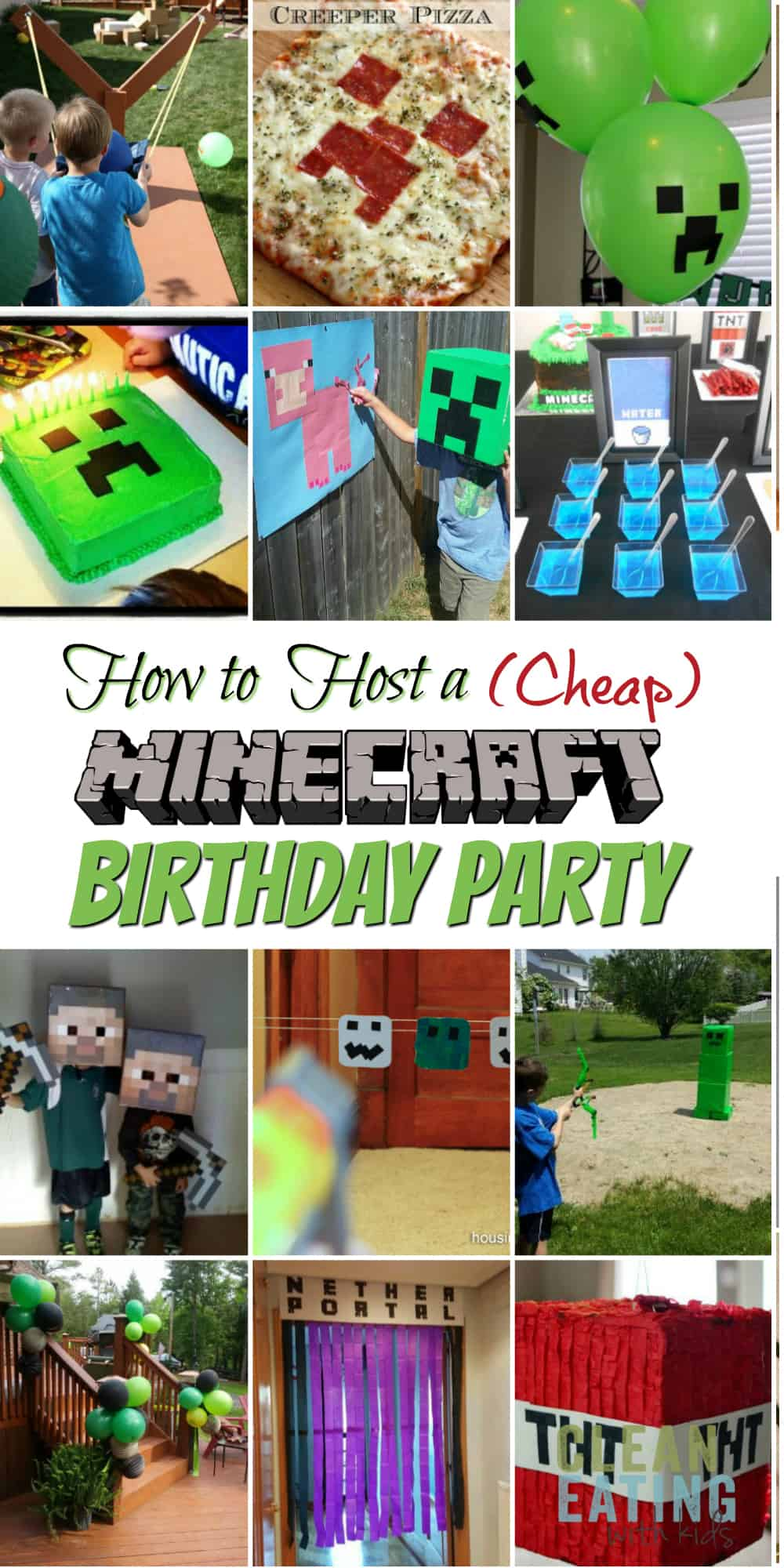 Minecraft Party Ideas How To Host A Cheap Minecraft Birthday Party