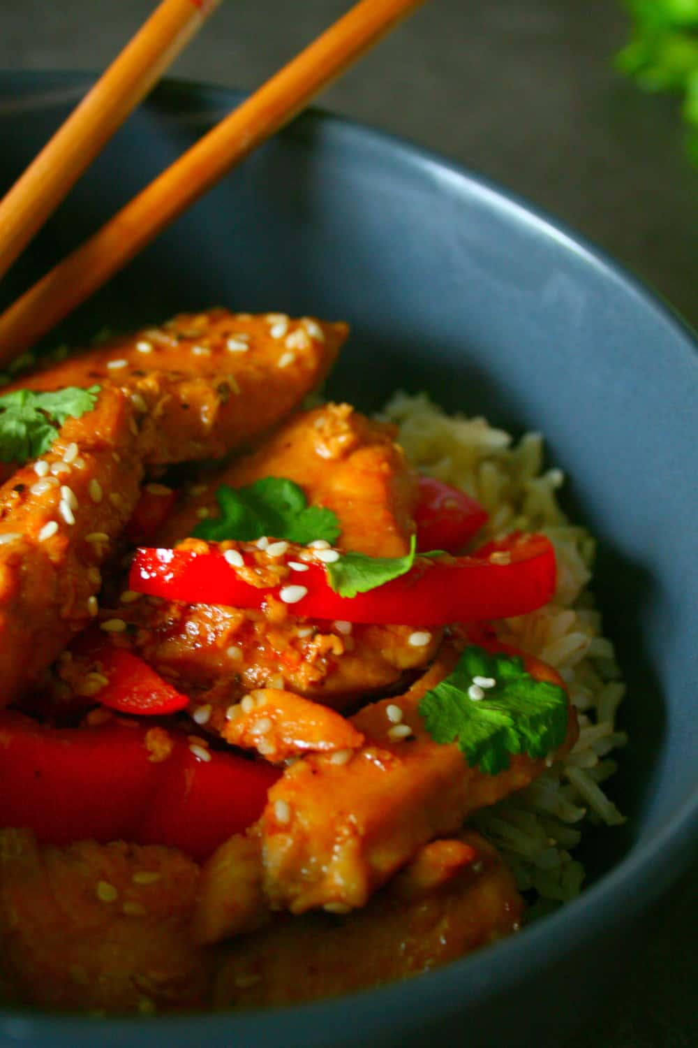 Clean Eating Honey Soy Sesame Chicken Stirfry. A go to meal that you can get on the table in 20 minutes And the family will love it!