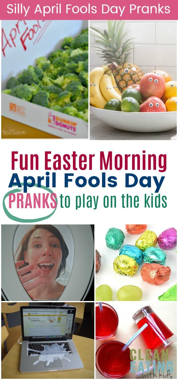 Fun April fools day pranks to play on the kids this Easter