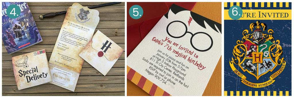 magical harry potter birthday party