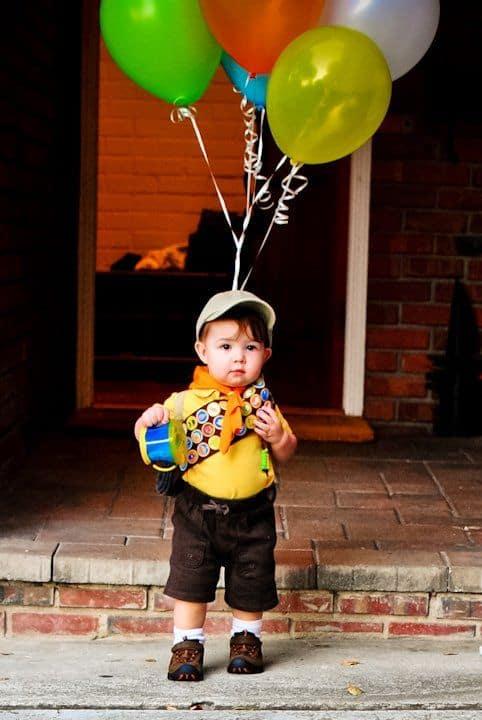 last minute halloween costume - up