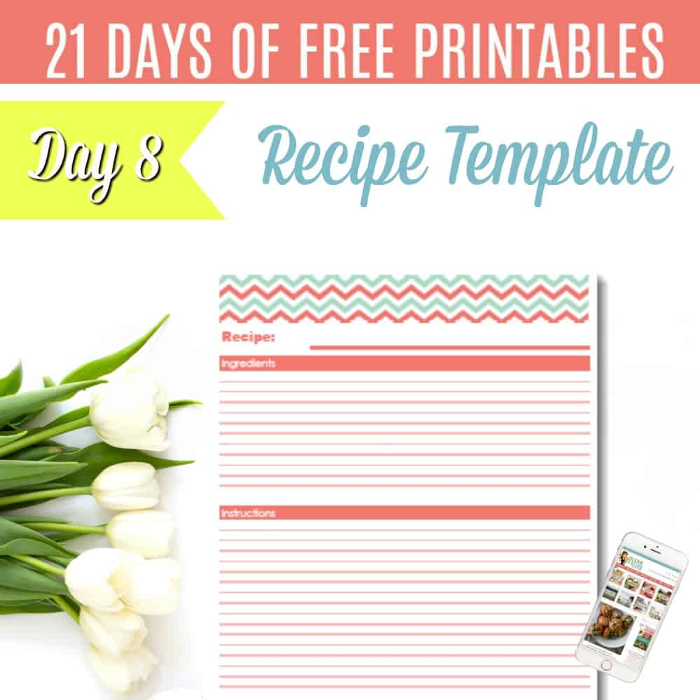 Free Recipe Page Template from i2.wp.com