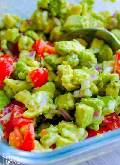 clean eating guacamole dip main