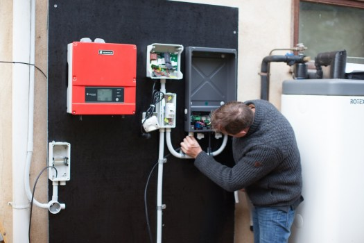 Mark installing dual mode (VOV/GT) EasyWarm system