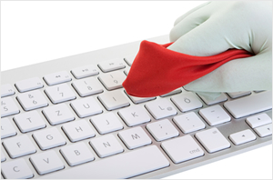 Computer Keyboard Cleaning Service
