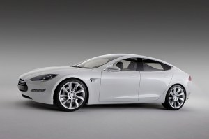 Tesla Model S Electric Car and Model X SUV