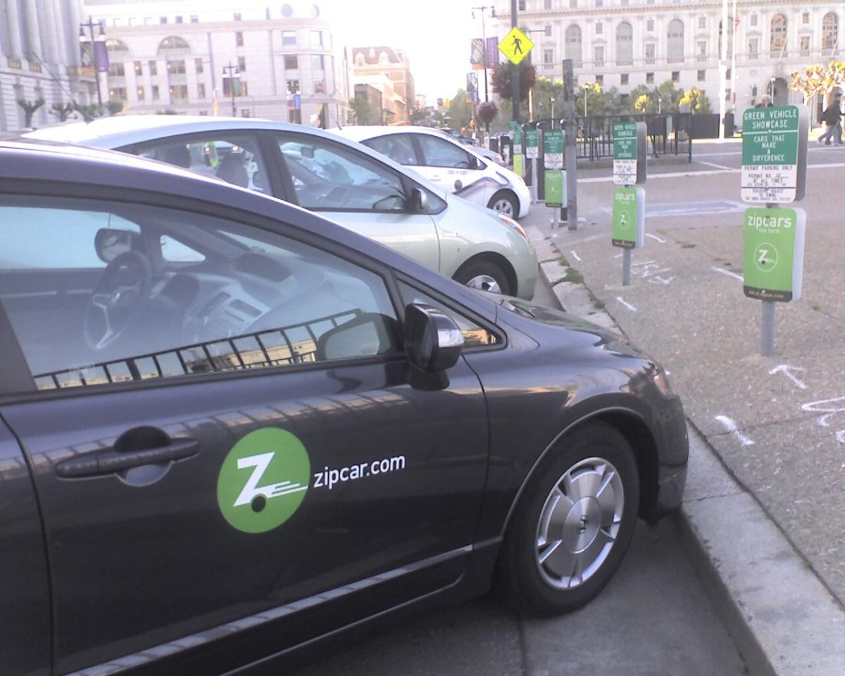 Zipcar Plug-in Prius
