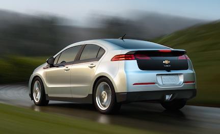 Enterprise Rents Chevrolet Volt Nissan Leaf Electric Cars Clean