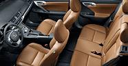 Lexus CT200h seats