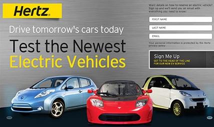 Hertz Electric Car Rental