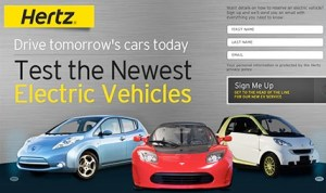 Hertz Expands Electric Car Rental in United States and China