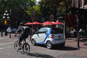 car2go electric car