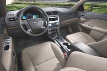 Ford Fusion Hybrid interior