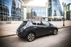 Nissan LEAF Electric Car $6,000 Price Reduction