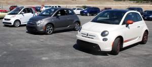 Fiat,Smart,Mercedes,EV