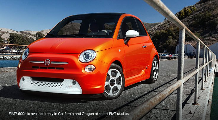 2014,Fiat,500e,electric car