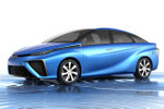 Toyota-fuel cell-electric vehicle
