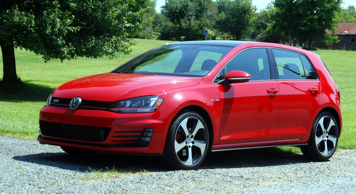 2015 VW, Volkswagen, Golf GTI