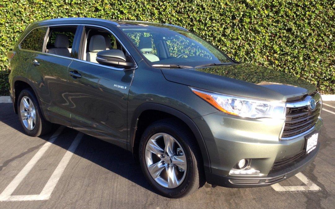 Road Test: 2014 Toyota Highlander Hybrid Limited AWD