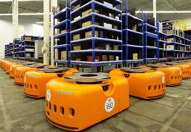 Amazon,Kiva robots,autonomous vehicles
