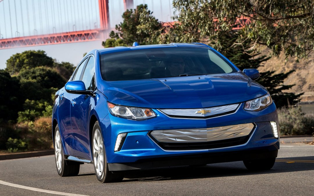 2016 Chevrolet Volt Nabs Green Car of the Year
