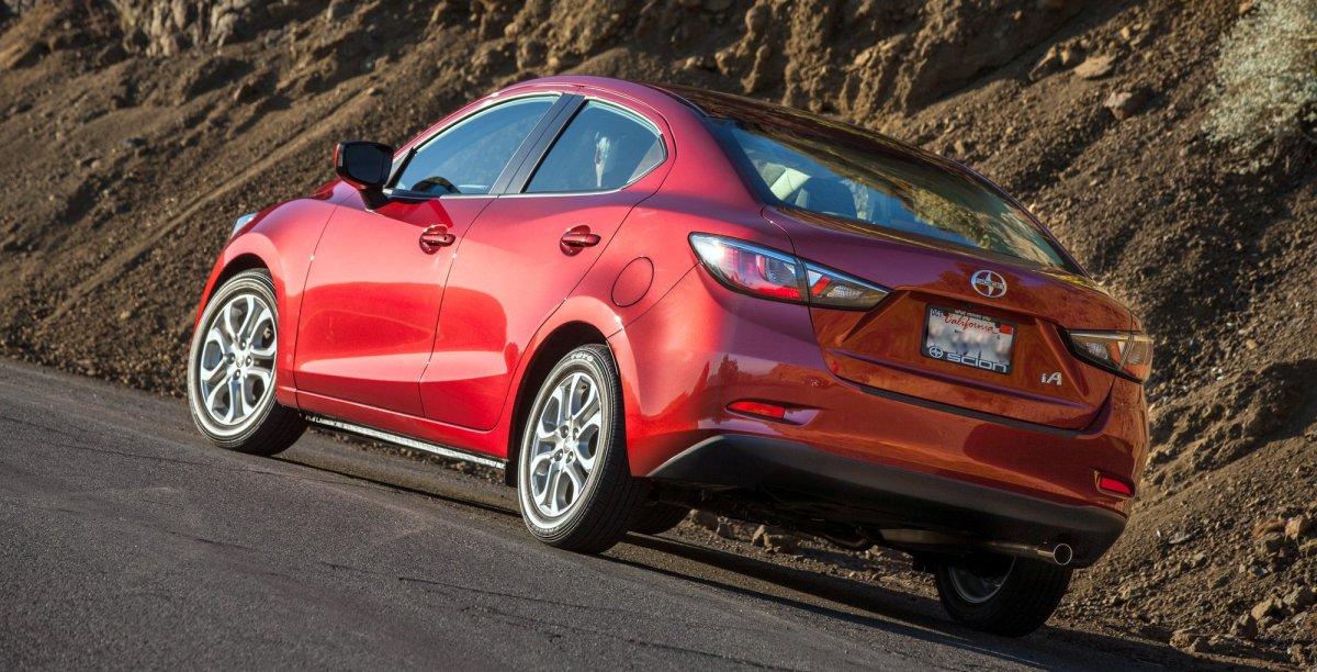 2016 Scion,iA,mpg,fuel economy,Mazda2