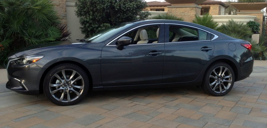 2016 Mazda6,fuel economy,styling,mpg