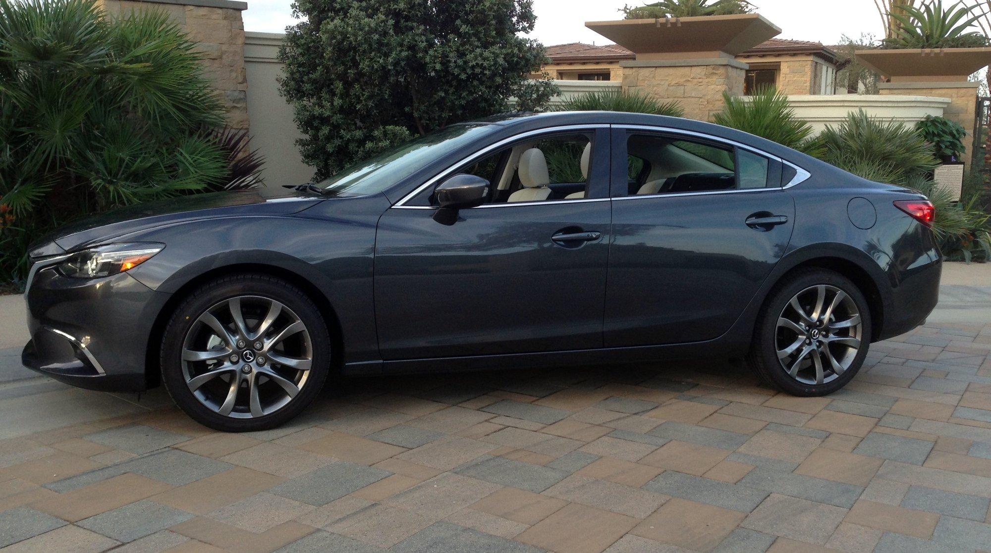 2016 Mazda6,fuel Economy,styling,mpg