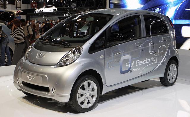 Peugeot,iOn,EV